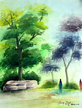 Landscape by Tanmay Singh