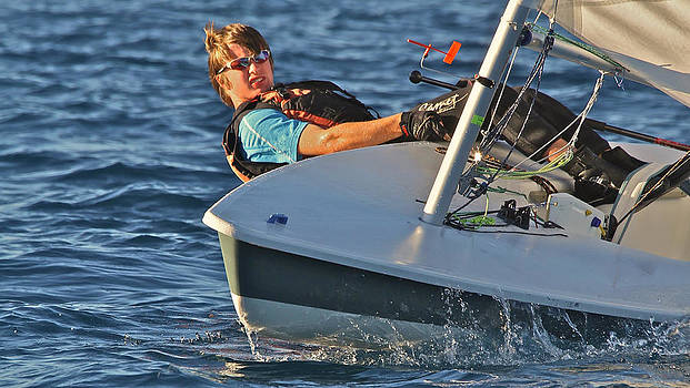 Steven Lapkin - Laser Racing on Lake Tahoe