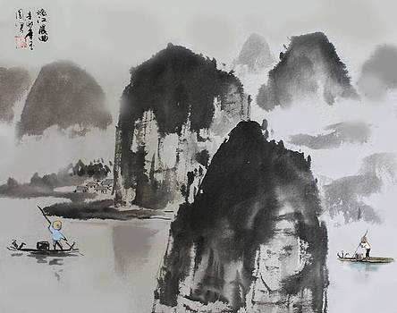 Li River by Yufeng Wang