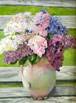 Lilacs by Judie White