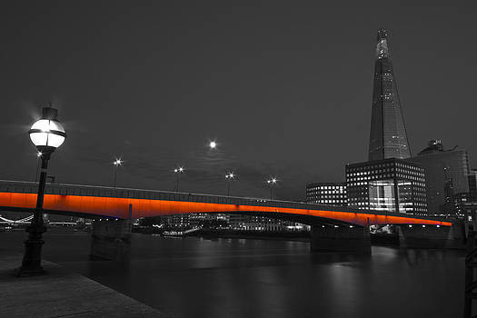 David French - London Bridge Shard night
