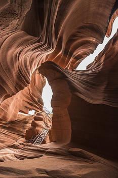 Lower Antelope Canyon Page Arizona 2012 by John Hanou