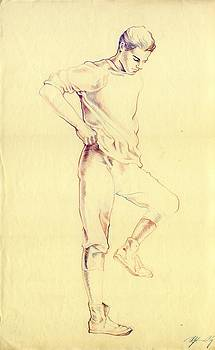 Alfred Ng - male figure drawing