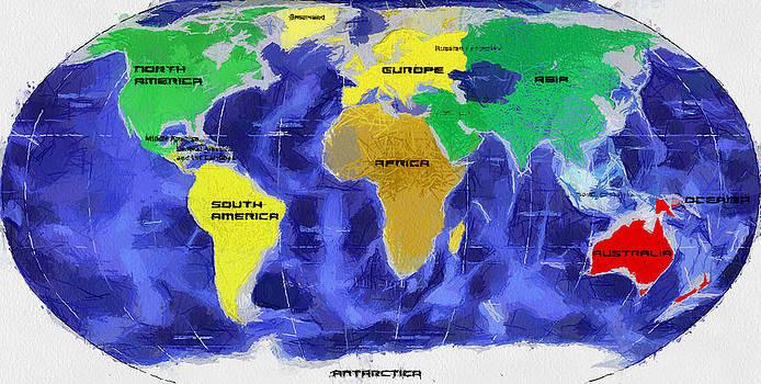 Map of the World by Georgi Dimitrov