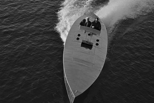 Steven Lapkin - MERCURY Race Boat