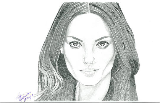 Mila Kunis by Gloria MacEachern