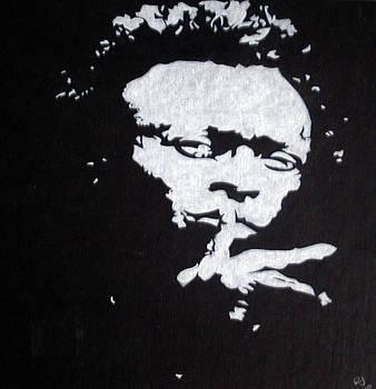 Miles Davis by Ray Johnson
