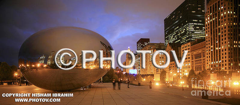 Millennium Park Chicago - Limited Edition by Hisham Ibrahim