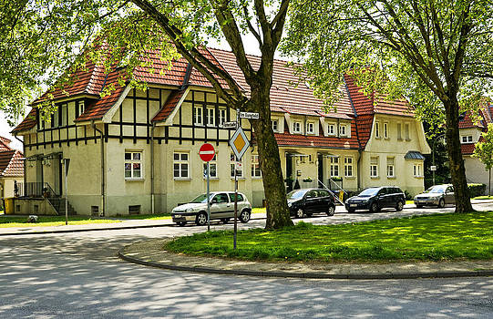 Miners housing estate Bottrop Germany by David Davies
