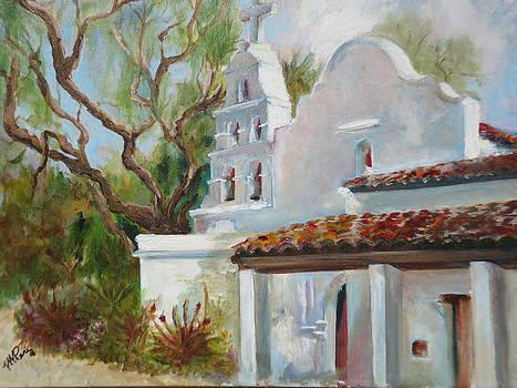 Mission San Diego de Alcala 2 by Luz Perez