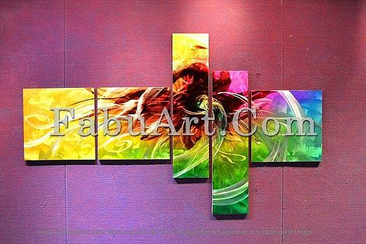 Modern Abstract Painting by FabuArt
