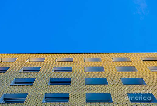 Modern building by Mats Silvan