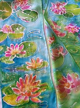 Monet Water Lilies  by Shan Ungar