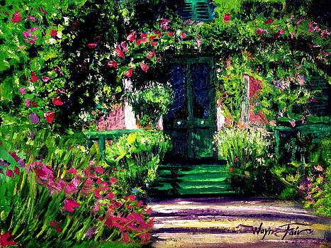 Monet's Door by Wayne Fair