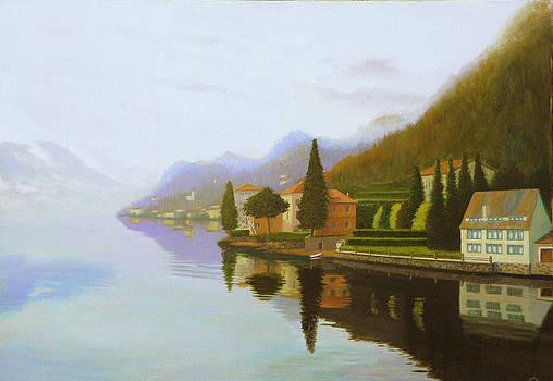 Morning mist by Erno Saller