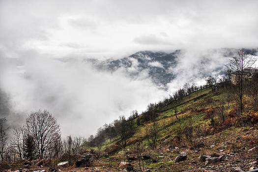 Mountain pass by Gouzel -