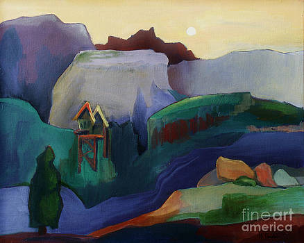 Mountain Serenity by Noel Sandino