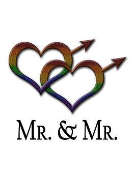 Mr. and Mr. Gay Pride  by Tavia Starfire
