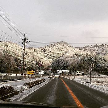 Covered with snow by Yoshikazu Yamaguchi