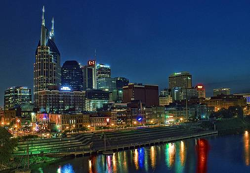Nashville Cityscape by Patrick Collins