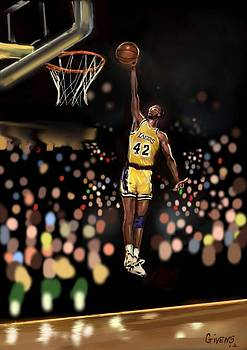 Nba Legend- James Worthy by Mark Givens