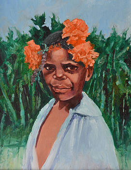 New Guinea Girl by Aileen McLeod