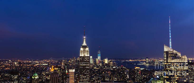 New York City Skyline by Cathy Alba