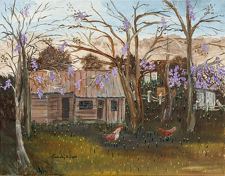Old Prescott Home by Linda Bright Toth