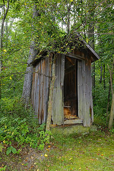 Old Privy by Arthur Fix