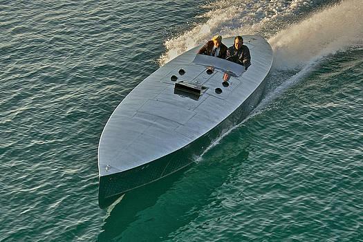 Steven Lapkin - Raceboat Mercury