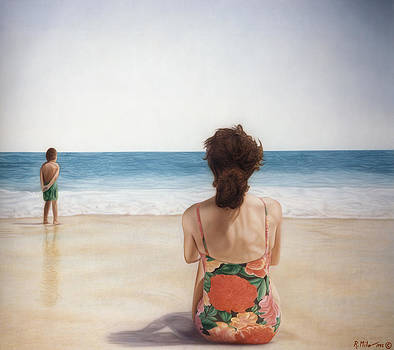 On The Beach by Rich Milo