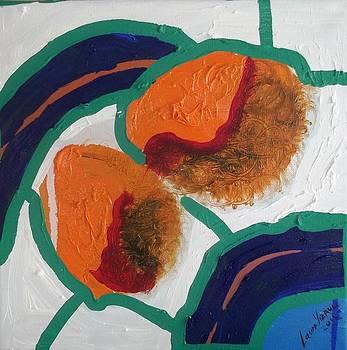 2 Orange by Laura Vizbule