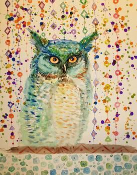 Owl by Alma Yamazaki
