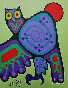 Owl by Jim Oskineegish