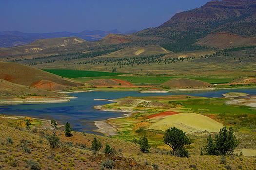 Painted Hills of Oregon by Barbara Chachibaya