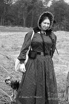 Palas Athena Ladies Aid Society 150 Civil War Reenactment Of The Wilderness by Jonathan Whichard