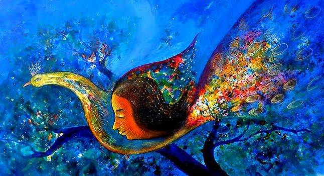 Peacock Life by Sanjay Punekar