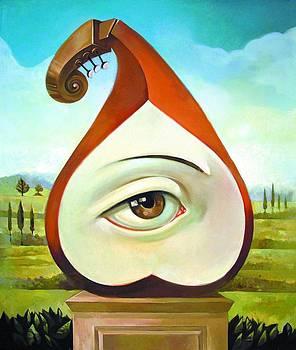 Musical Pear by Filip Mihail