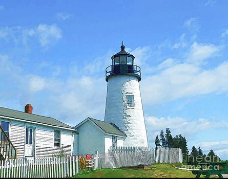 Pemaquid Lighthouse by Arnie Goldstein