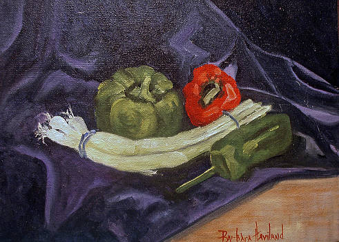 Peppers and Onions by Barbara Haviland