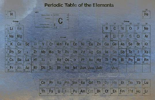Periodic table of the elements by T Lang