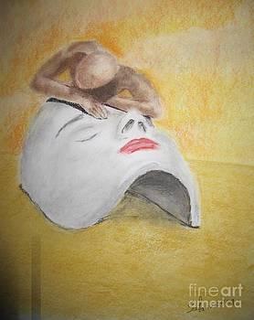 Phantom in the desert by Safa Al-Rubaye