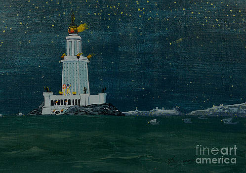Pharos Lighthouse by Anthony Dunphy