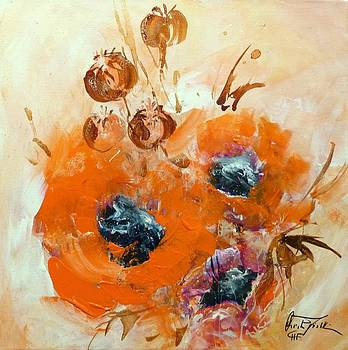 Poppy Impression by Christa Friedl