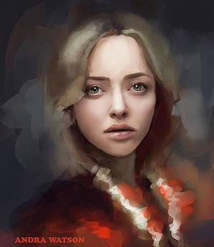 Portrait by Andra Watson