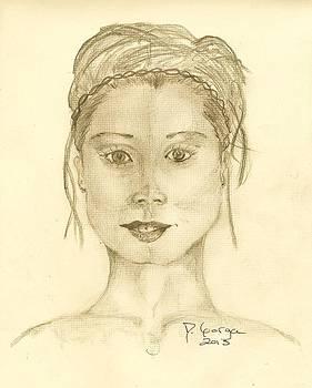 Portrait of a Woman by Deborah Gorga