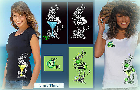 Presentation Board for T-shirt Design by Wendy Wiese