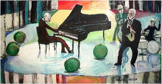 Quartet Dave Brubeck by Dominic Fetherston