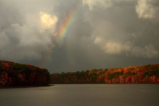 Rainbow Through The Clouds by Scott Fracasso