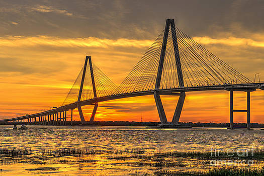 Dale Powell - Ravenel Bridge Sunset